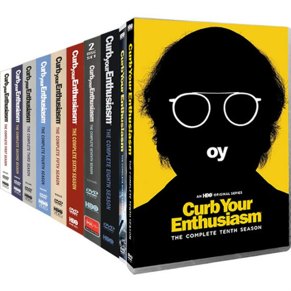 Curb Your Enthusiasm Complete Series 1-10 DVD ON SALE (20-Disc 2020)