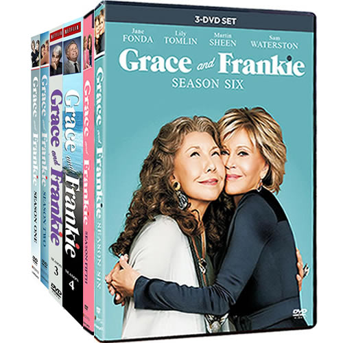 Grace And Frankie Complete Series 1-6 DVD ON SALE (19-Disc 2020)