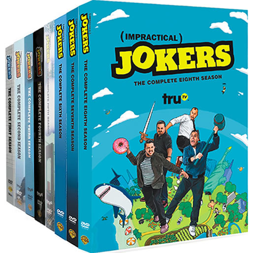 Impractical Jokers Complete Series 1-8 DVD ON SALE (24-Disc 2020)