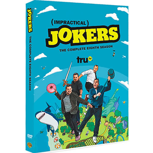 Impractical Jokers Season 8 DVD ON SALE (4-Disc 2020)