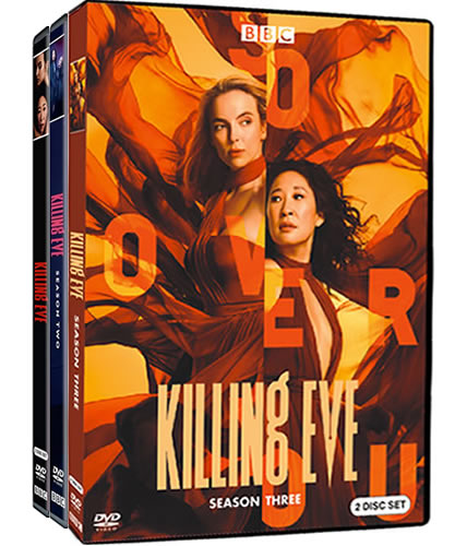 Killing Eve Complete Series 1-3 DVD ON SALE (6-Disc 2020)