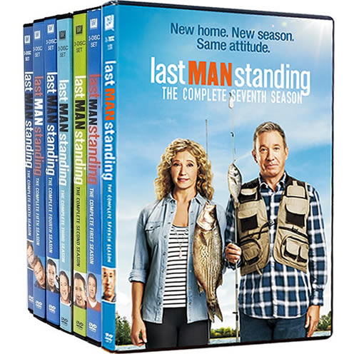 Last Man Standing Complete Series 1-7 DVD ON SALE (21-Disc 2020)