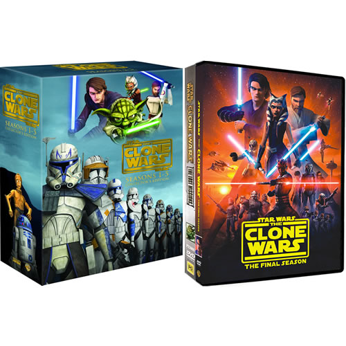 Star Wars: The Clone Wars Complete Series 1-7 DVD ON SALE (24-Disc 2020)