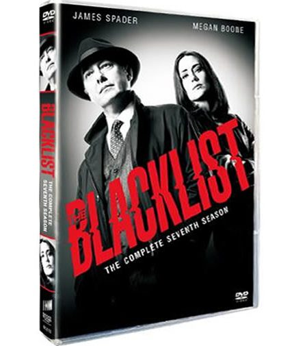 The Blacklist Season 7 DVD ON SALE (4-Disc 2020)