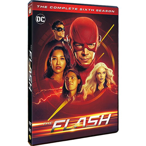 The Flash Season 6 DVD ON SALE (5-Disc 2019)