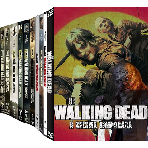 The Walking Dead Complete Series 1-10 DVD ON SALE (46-Disc 2020)