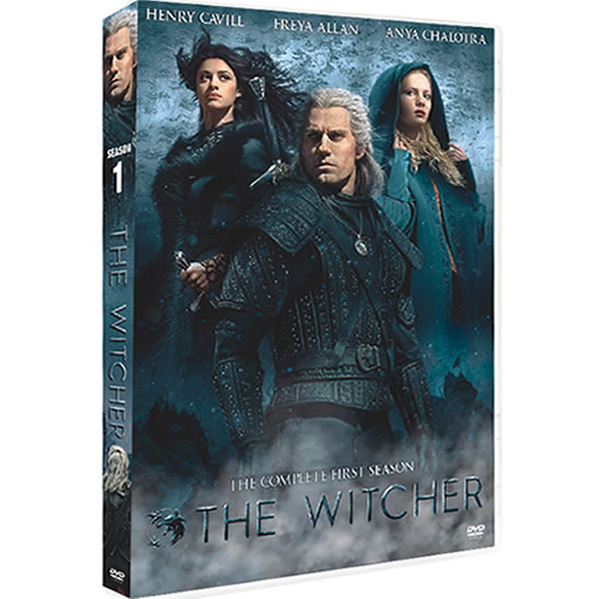 The Witcher Season 1 DVD ON SALE (3-Disc 2020)