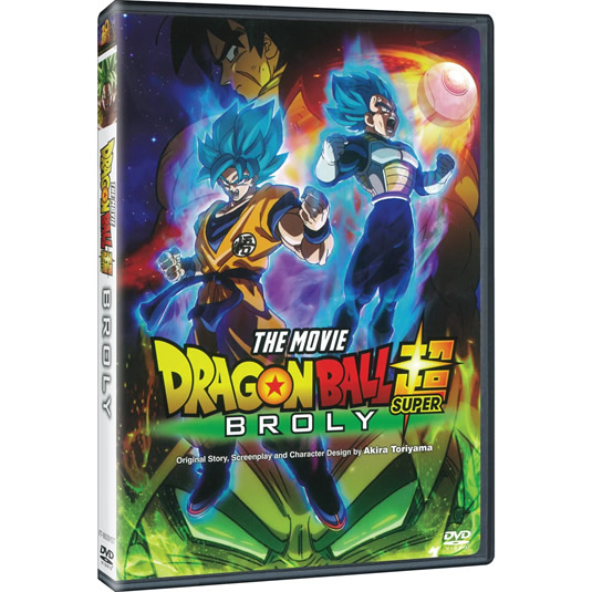 Dragon Ball Super: Broly DVD ON SALE