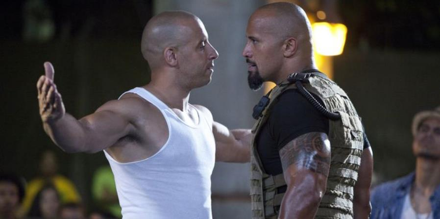 Fate of the Furious: Dwayne Johnson & Vin Diesel Didn't Film Together