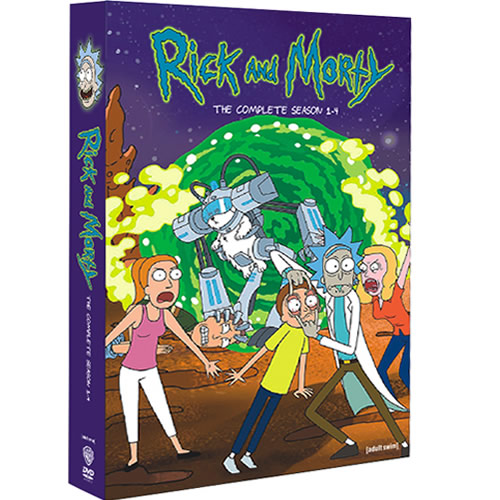 Rick and Morty Complete Series 1-4 DVD ON SALE (8-Disc 2020)