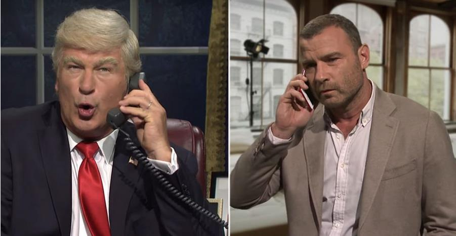 SNL: Alec Baldwin's Trump Tries to Hire Ray Donovan in Opening Skit