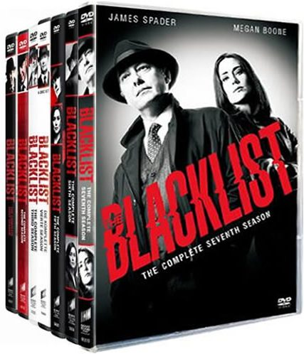 The Blacklist Complete Series 1-7 DVD ON SALE (34-Disc 2020)