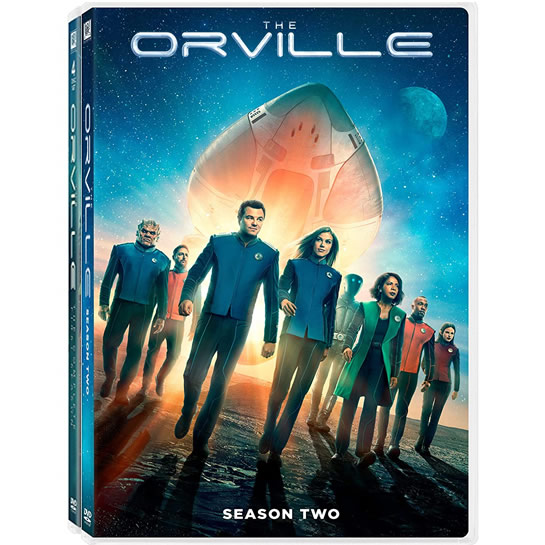 The Orville Complete Series 1-2 DVD ON SALE (8-Disc 2020)