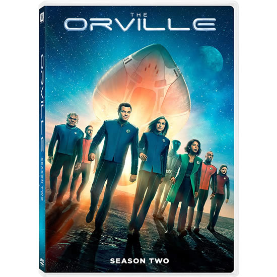 The Orville Season 2 DVD ON SALE (4-Disc 2020)