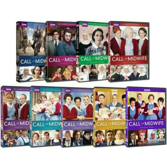 Call the Midwife Complete Series 1-9 DVD ON SALE (26-Disc 2020)