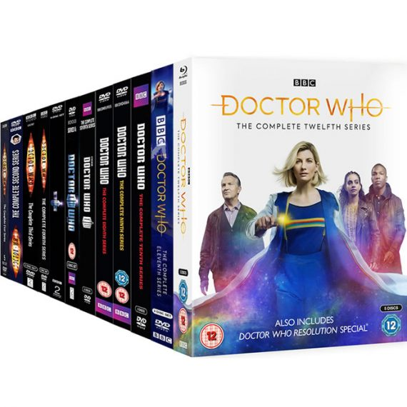 Doctor Who Complete Series 1-12 DVD ON SALE (62-Disc 2020)
