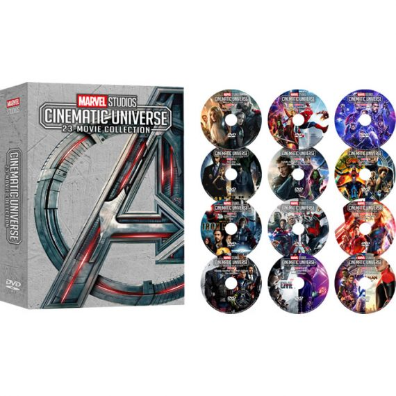 Marvel Studios Cinematic Universe 23-Movie Collection DVD ON SALE