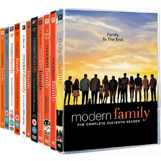 Modern Family Complete Series 1-11 DVD ON SALE (34-Disc 2020)
