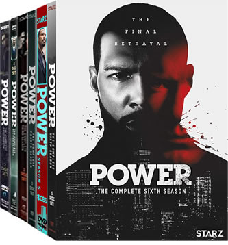 Power Complete Series 1-6 DVD ON SALE (19-Disc 2020)