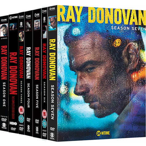 Ray Donovan Complete Series 1-7 DVD ON SALE (28-Disc 2020)