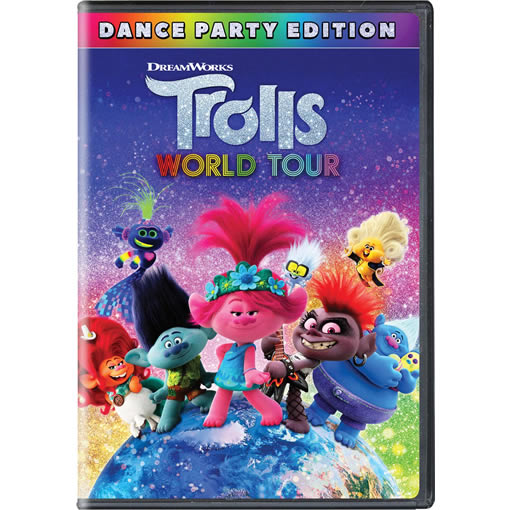 Trolls World Tour DVD ON SALE