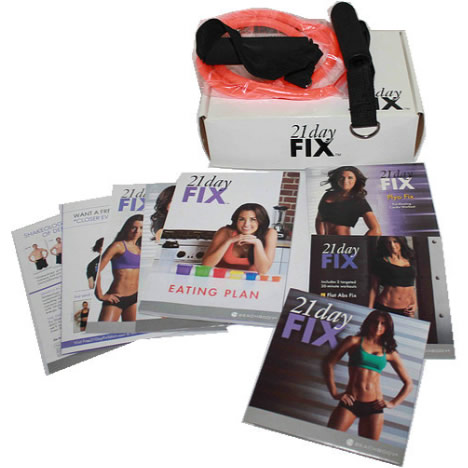 21 Day Fix 4-Disc DVD Set DVD ON SALE