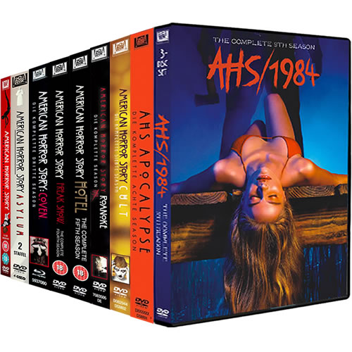 American Horror Story Complete Series 1-9 DVD ON SALE (32-Disc 2020)