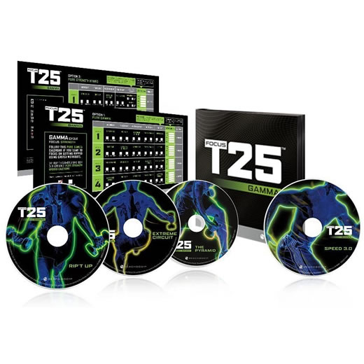 Focus T25 GAMMA 4-Disc DVD ON SALE