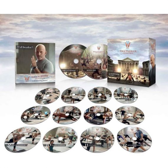 Yoga Warrior 365 DVD ON SALE