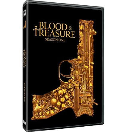 Blood & Treasure Season 1 DVD ON SALE (3-Disc 2020)
