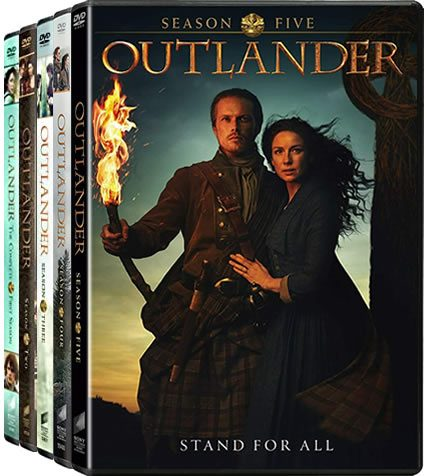 Outlander Complete Series 1-5 DVD ON SALE (23-Disc 2020)