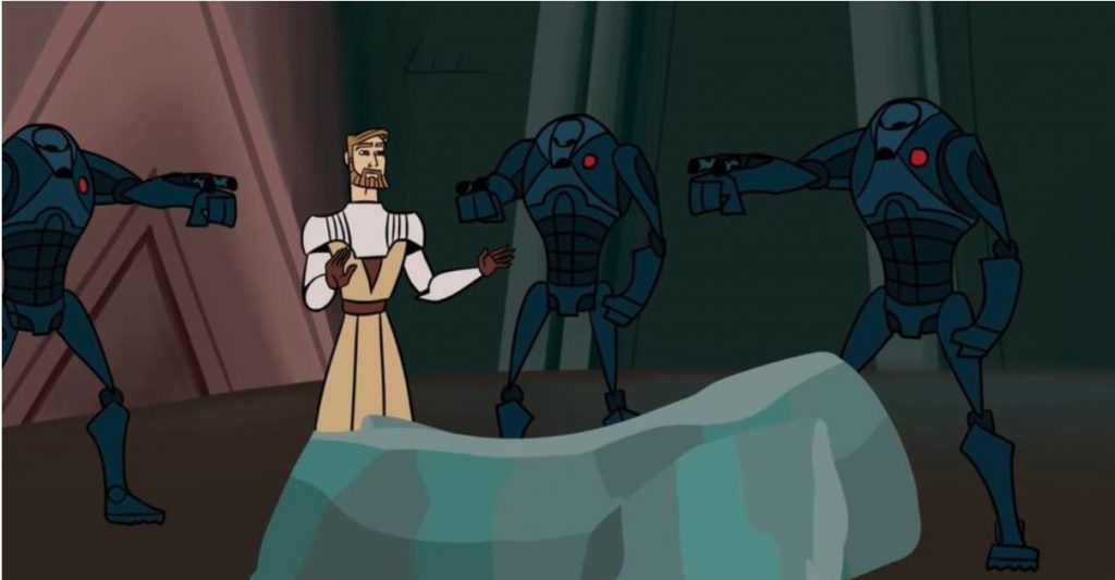 Star Wars: The Clone Wars Recreated In 2003 Show's Style