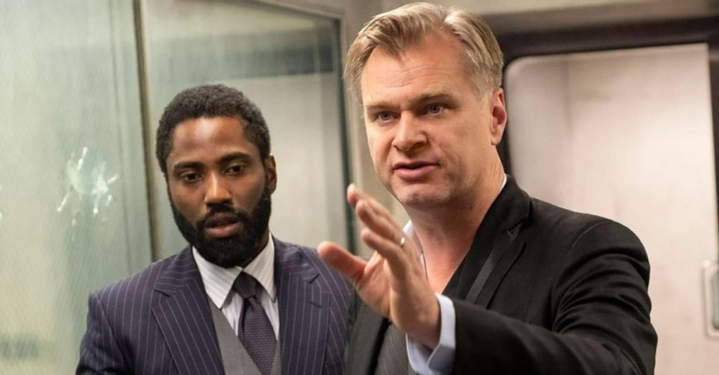 Christopher Nolan Visits Movie Theater To Support Tenet Release