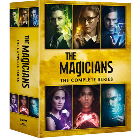 The Magicians Complete Series DVD ON SALE (19-Disc 2020)