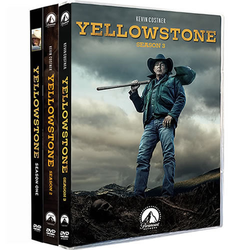 Yellowstone Complete Series 1-3 DVD ON SALE (11-Disc 2020)