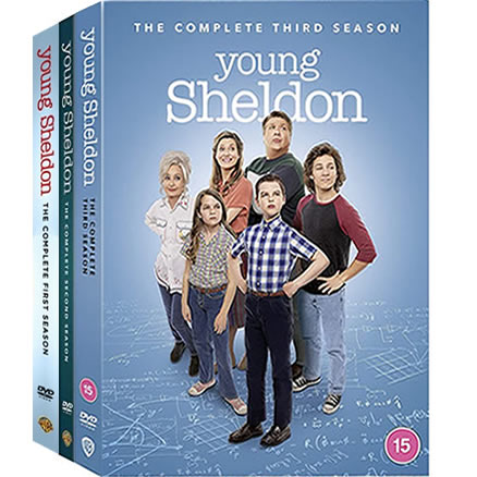 Young Sheldon Complete Series 1-3 DVD ON SALE (7-Disc 2020)