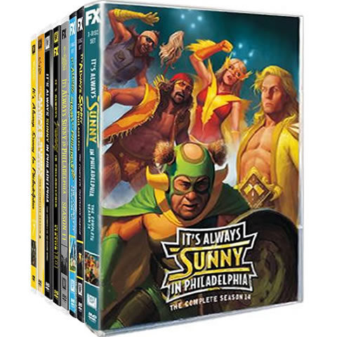 It's Always Sunny in Philadelphia Complete Series 7-14 DVD ON SALE (14-Disc 2020)