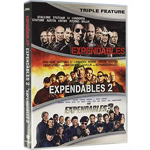 The Expendables 1-3 DVD ON SALE