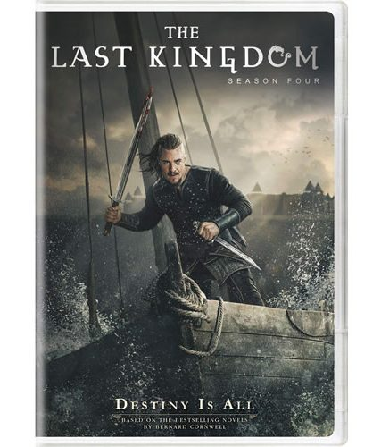 The Last Kingdom Season 4 DVD ON SALE (4-Disc 2020)