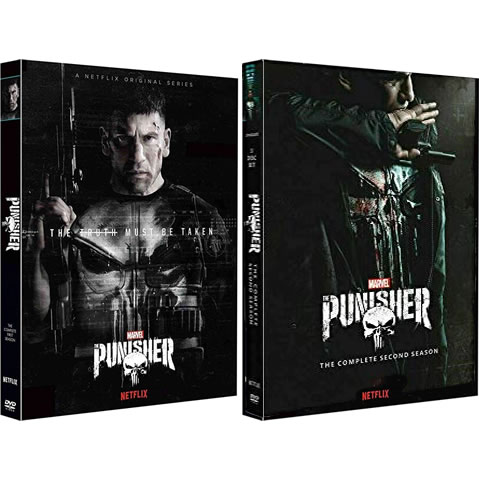 The Punisher Complete Series 1-2 DVD ON SALE (6-Disc 2020)