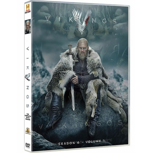 Vikings Season 6 Part 1 DVD ON SALE (3-Disc 2020)