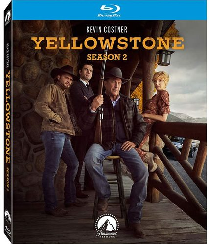 Yellowstone Complete Season 2 Blu-ray Region Free DVD ON SALE (3-Disc 2020)