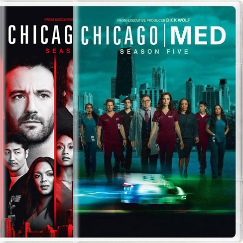 Chicago Med Complete Series 4-5 DVD ON SALE (12-Disc 2020)
