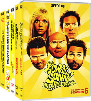 It's Always Sunny in Philadelphia Complete Series 1-6 DVD ON SALE (16-Disc 2020)