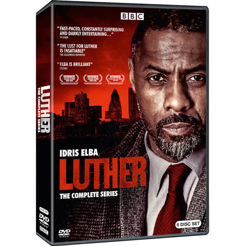 Luther Complete Series DVD ON SALE in NZ