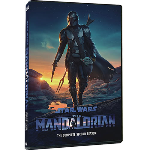 Star Wars: The Mandalorian Season 2 DVD ON SALE (2-Disc 2021)