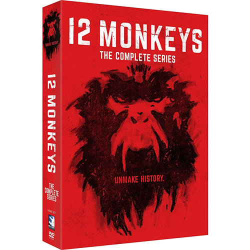 12 Monkeys Complete Series DVD ON SALE (8-Disc 2021)