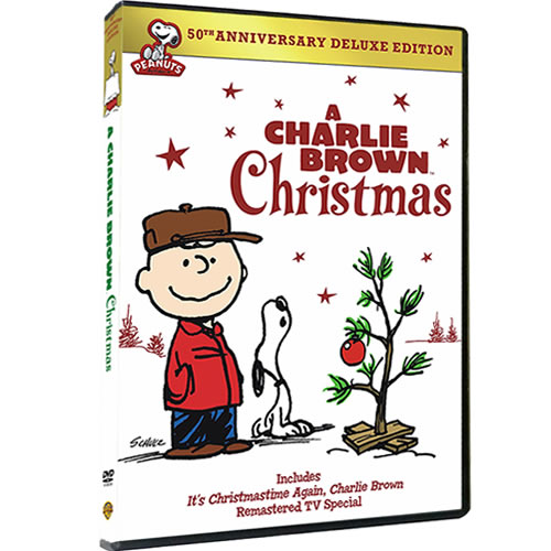 A Charlie Brown Christmas 50th Anniversary Deluxe Edition DVD ON SALE