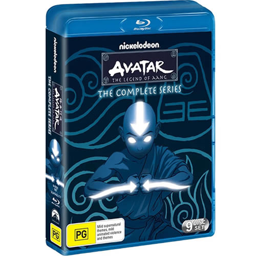 Avatar The Last Airbender The Complete Series Blu-ray DVD ON SALE (9-Disc 2021)