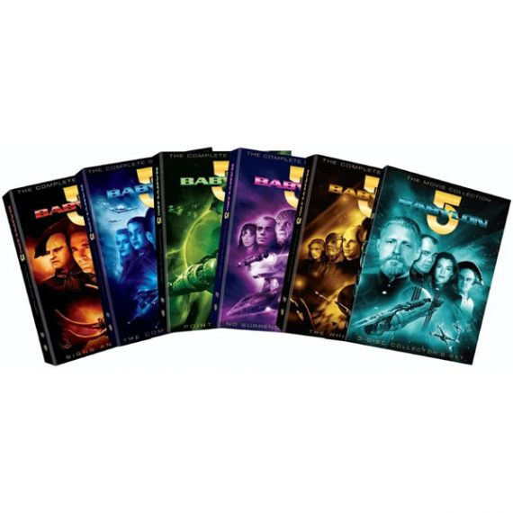 Babylon 5 Complete Series DVD ON SALE (35-Disc 2021)